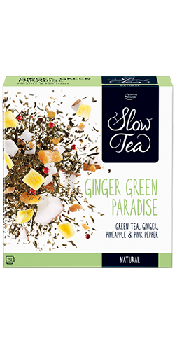 Slow Tea - Ginger Green Paradise
