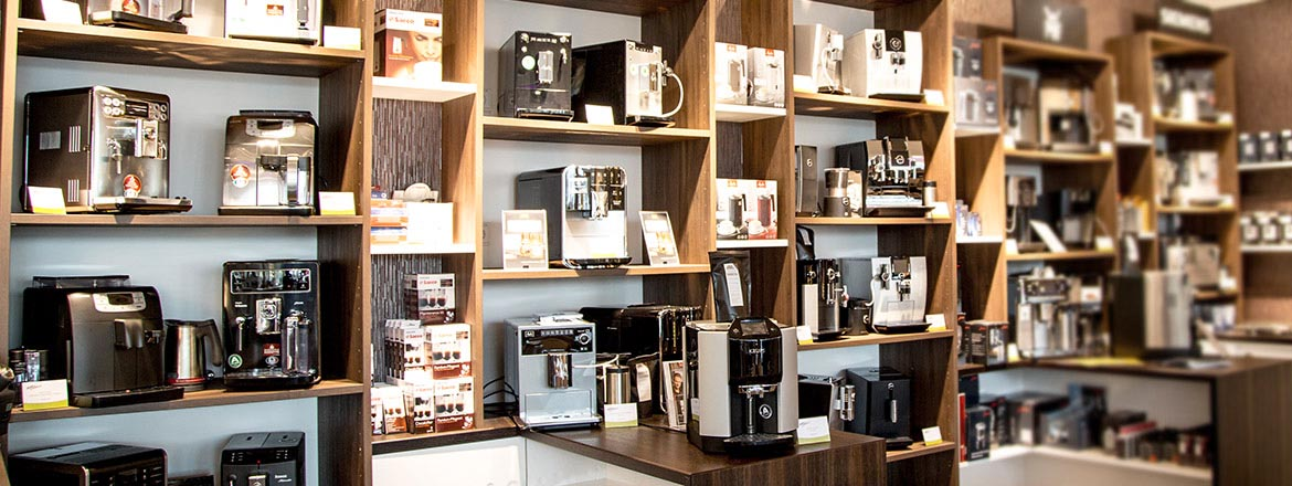 Shop vor Ort im coffee perfect Bistro